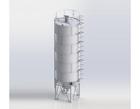 Сборный силос цемента СЦС-36